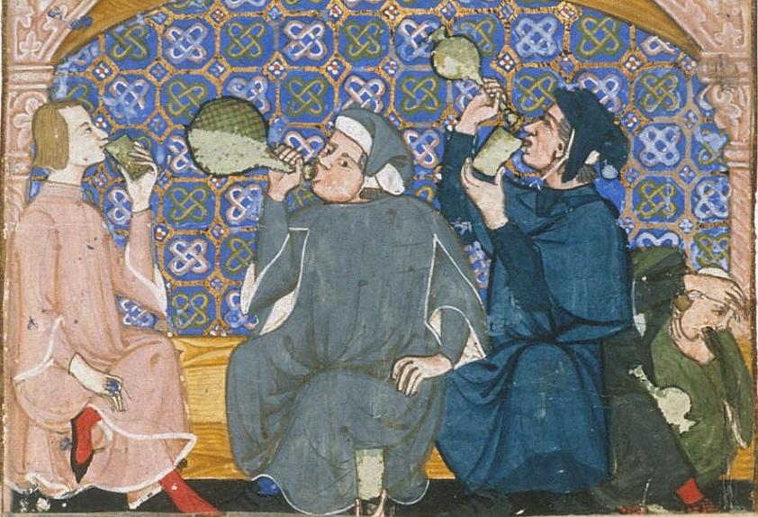 Средневековые сомелье