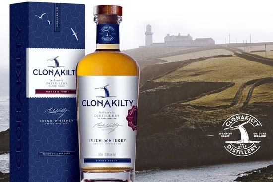 На фото – ирландский виски Clonakilty