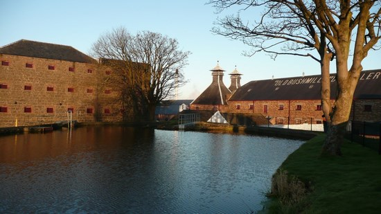 Вискикурня Old Bushmills Distillery