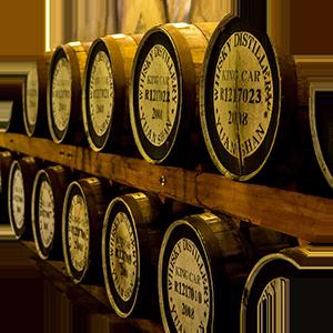 Виски в бочках