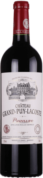 Chateau Grand-Puy-Lacoste красное сухое 2011