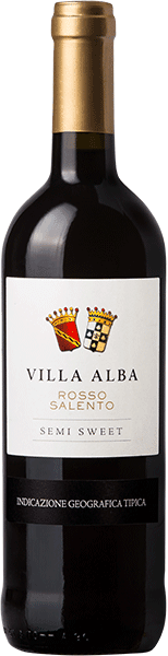 Botter, Villa Alba Rosso Salento Semi Sweet DOC