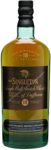 Виски Singleton of Dufftown, 18 летней выдержки