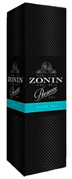 Игристое вино Zonin Prosecco DOC in gift box 0.75 л