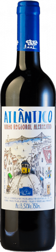 Atlantico красное полусухое