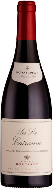 Cairanne Boutinot Les Six Red Dry