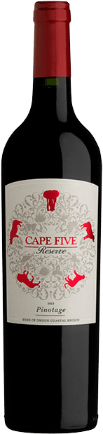 Вино Cape Five Pinotage Reserve 0.75 л