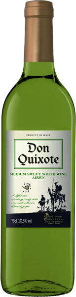 Don Quixote white medium sweet, Vino de Mesa