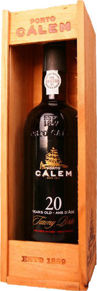Calem 20 Years Old Red Sweet, Gift Box