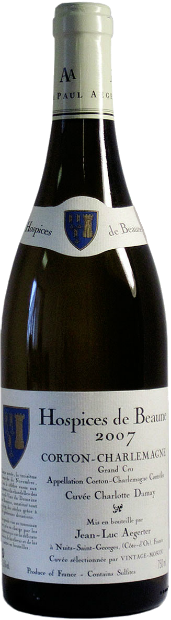 Aegerter Hospices de Beaune Corton-Charlemagne Grand Cru AOC