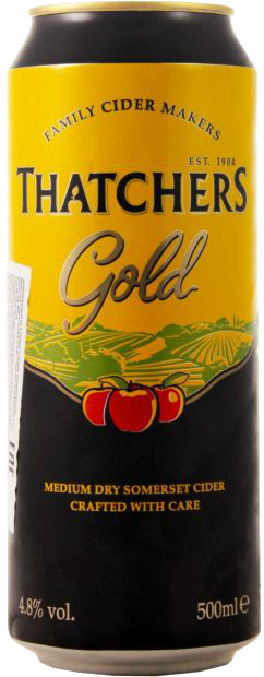 Thatchers Gold, в банке