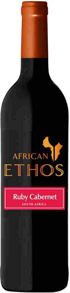 African Ethos Ruby Cabernet Red Dry