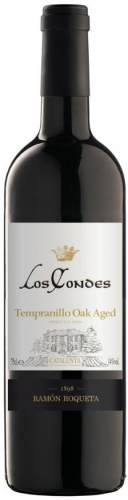 Los Condes Tempranillo Oak Aged Catalunya DO
