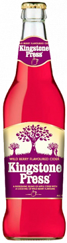 "Kingstone Press ""Wild Berry Flavoured Cider"""