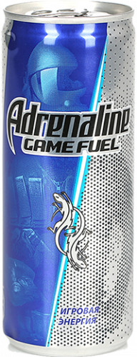 Adrenaline Game Fuel 0.25л