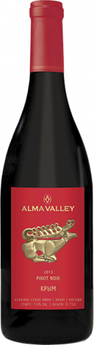 Pinot Noir Alma Valley 2014