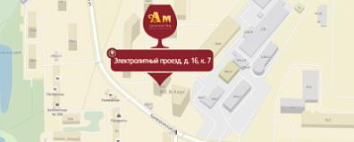 Открылся свежий этиловый универсам АМ во Электролитном проезде, д. 06, к. 0!