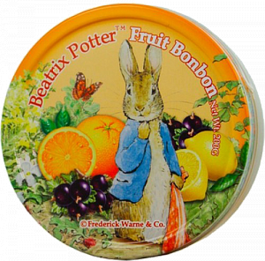 Леденцы Beatrix Potter Fruit Bonbon, 200гр