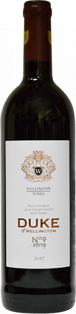 Duke of Wellington Shiraz