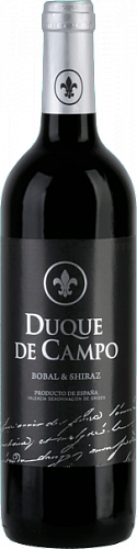 Duque De Campo Bobal & Shiraz