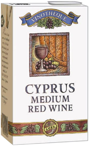 Cyprus Medium Red Wine