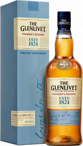 The Glenlivet  Founder's Reserve gift box, 0.7л