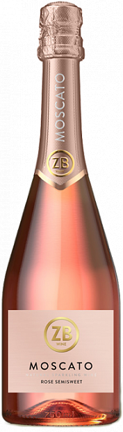 ZB Wine Moscato Rose