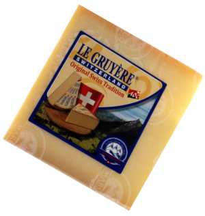 Margot Fromages Gruyere (Грюйер) 49% 200гр